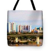 Daytona Bridge Tote Bag