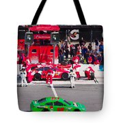 Daytona Speedway Race View Tote Bag