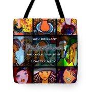 Dazzle Neck Art Collection Tote Bag