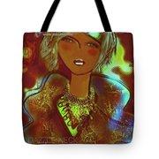 Dazzle Neck Collection Tote Bag