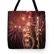 Dazzling Fireworks Tote Bag