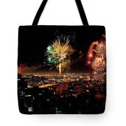 Dazzling Fireworks Iv Tote Bag