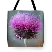 Dazzling Thistle Beauty Tote Bag