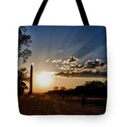 Dc Monument Sunset Tote Bag