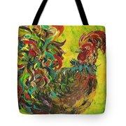 De Colores Rooster #2 Tote Bag