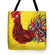 De Colores Rooster Tote Bag