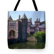De Haar Castle And Moat Tote Bag