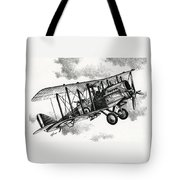 De Havilland Airco Dh.4 Tote Bag
