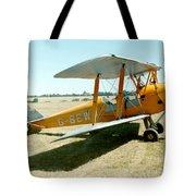 De-havilland Tiger Moth Tote Bag