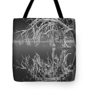 Dead Arch Black And White Tote Bag