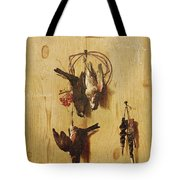 Dead Birds Oil On Canvas Tote Bag
