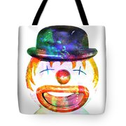 Dead Clown Tote Bag