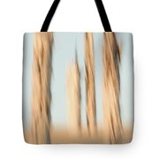 Dead Conifer Trees In Sand Dunes Tote Bag