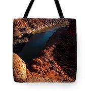 Dead Horse Point Colorado River Bend Tote Bag