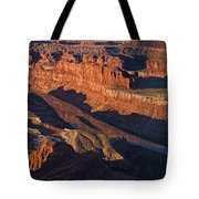 Dead Horse Point Sunrise Panorama Tote Bag