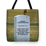 Dead Robin Tote Bag