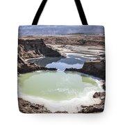 Dead Sea Sinkholes  Tote Bag