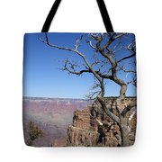 Dead Tree At The View Point Tote Bag