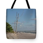 Dead Trees At The Seaside Tote Bag