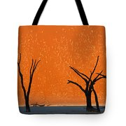 Dead Trees By Red Sand Dunes, Dead Tote Bag