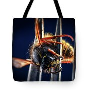 Dead Wasp On A Fork Tote Bag