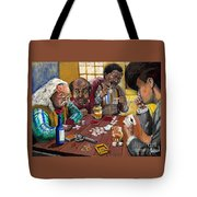 Dead Man's Hand Tote Bag