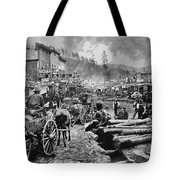 Deadwood South Dakota C. 1876 Tote Bag