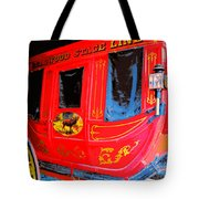 Deadwood Stagecoach Tote Bag