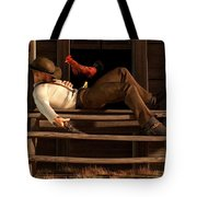 Deaf To The Rooster's Call Tote Bag