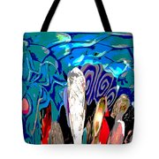 Dean Abstract Tote Bag