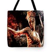 Death By Medicine Tote Bag