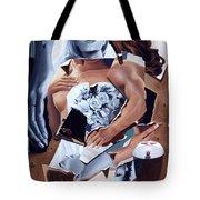 Death Due Us Parts Tote Bag