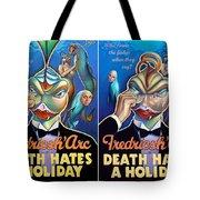 Death Takes A Redux Tote Bag