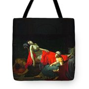 Death Of Cleopatra Tote Bag
