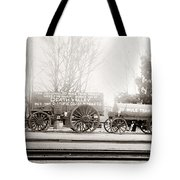 Death Valley Borax Mule Team Tote Bag