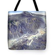 Death Valley From Outer Space Tote Bag
