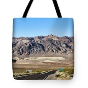 Death Valley Highway Tote Bag