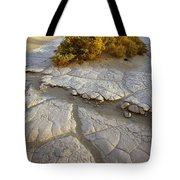 Death Valley Mudflat Tote Bag