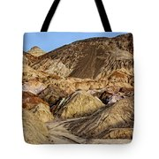 Death Valley Painted Mountains Tote Bag