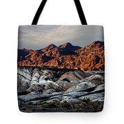 Death Valley Painted Rock Tote Bag