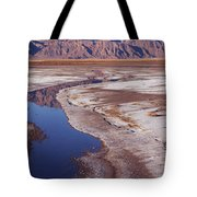 Death Valley Salt Stream 1-h Tote Bag