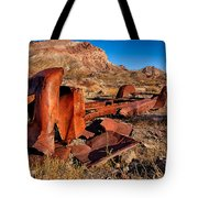 Death Valley Truck Tote Bag