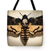 Deaths Head Hawk Moth Framed Version Tote Bag