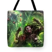 Death's Presence Tote Bag by Ryan Barger