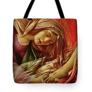 Deatil From The Lamentation Of Christ Tote Bag