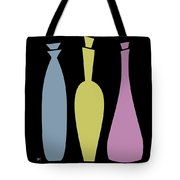 Decanters On Black 2 Tote Bag