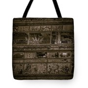 Decaying Building In Glasgow Tote Bag