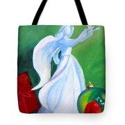 December's Angel Tote Bag