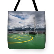 Deck On The Navimag Ferry Tote Bag