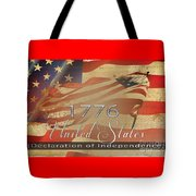 Declaration Of Independence  Tote Bag by Beverly Guilliams